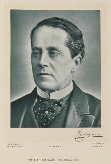 George Henry Cadogan, 5th Earl Cadogan, by Herbert Rose Barraud, published by  Charles Newman & Co - NPG Ax15888