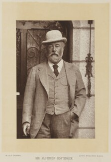 Algernon Borthwick, 1st Baron Glenesk, by W. & D. Downey, published by  Cassell & Company, Ltd, published 1891 - NPG Ax15896 - © National Portrait Gallery, London