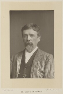 George Du Maurier, by W. & D. Downey, published by  Cassell & Company, Ltd - NPG Ax15905