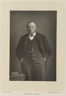 Sir Henry Enfield Roscoe, by W. & D. Downey, published by  Cassell & Company, Ltd - NPG Ax15914