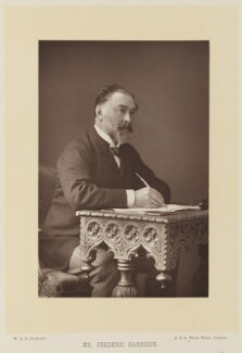 Frederic Harrison, by W. & D. Downey, published by  Cassell & Company, Ltd - NPG Ax15918