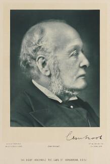 Gathorne Gathorne-Hardy, 1st Earl of Cranbrook, by W. & D. Downey - NPG Ax15927