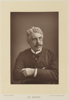 Sir Squire Bancroft (né Butterfield), by W. & D. Downey, published by  Cassell & Company, Ltd - NPG Ax15920