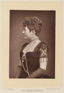 Ellen Jeromina ('Mina') Beresford (née Gardner), Lady Beresford, by W. & D. Downey, published by  Cassell & Company, Ltd - NPG Ax15922