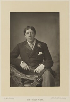 Oscar Wilde, by W. & D. Downey, published by  Cassell & Company, Ltd - NPG Ax15924
