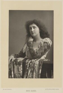 Emma Eames, by W. & D. Downey, published by  Cassell & Company, Ltd - NPG Ax15925