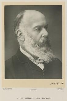 Sir John Eldon Gorst, by James Russell & Sons - NPG Ax15949
