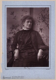 Ellen Terry, by Herbert Rose Barraud, published by  Richard Bentley & Son - NPG x26815