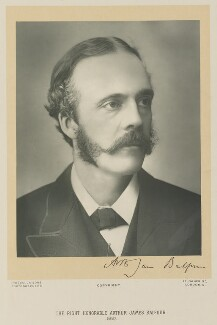 Arthur James Balfour, 1st Earl of Balfour, by James Russell & Sons - NPG Ax15963