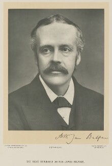 Arthur James Balfour, 1st Earl of Balfour, by London Stereoscopic & Photographic Company - NPG Ax15964