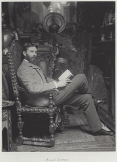 Frank Dicksee, by Ralph Winwood Robinson, published by  C. Whittingham & Co, 1889, published 1892 - NPG x7361 - © National Portrait Gallery, London