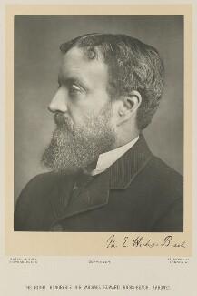 Michael Edward Hicks Beach, 1st Earl St Aldwyn, by James Russell & Sons - NPG Ax15969