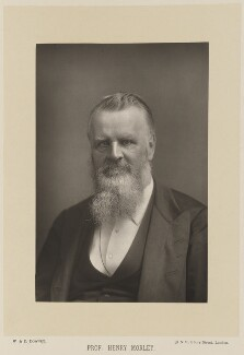 Henry Morley, by W. & D. Downey, published by  Cassell & Company, Ltd - NPG Ax15977