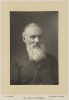 William Thomson, Baron Kelvin, by W. & D. Downey, published by  Cassell & Company, Ltd - NPG Ax15988