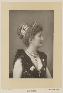 Julia Mary (née Lethbridge), Lady Carew, by W. & D. Downey, published by  Cassell & Company, Ltd - NPG Ax15991