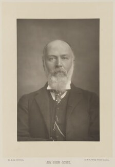 Sir John Eldon Gorst, by W. & D. Downey, published by  Cassell & Company, Ltd - NPG Ax15995