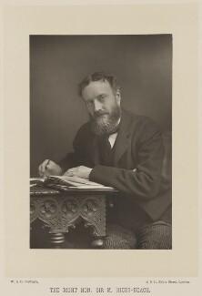 Michael Edward Hicks Beach, 1st Earl St Aldwyn, by W. & D. Downey, published by  Cassell & Company, Ltd - NPG Ax16005