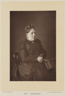 Mrs Alexander (Annie Hector (née French)), by W. & D. Downey, published by  Cassell & Company, Ltd, published 1892 - NPG Ax16006 - © National Portrait Gallery, London
