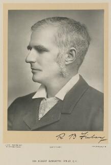 Robert Bannatyne Finlay, 1st Viscount Finlay, by John MacMahon - NPG Ax16016