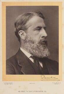 Spencer Compton Cavendish, 8th Duke of Devonshire, by Alexander Bassano - NPG Ax16070