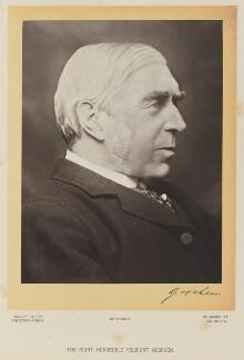 George Joachim Goschen, 1st Viscount Goschen, by Elliott & Fry - NPG Ax16079