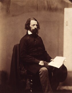 Alfred, Lord Tennyson, by James Mudd, 1861 - NPG x8005 - © National Portrait Gallery, London