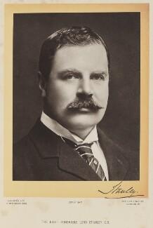 Edward George Villiers Stanley, 17th Earl of Derby, by Langfier Ltd - NPG Ax16081
