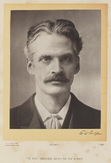 Gerald William Balfour, 2nd Earl of Balfour, by A.C. Hoskins - NPG Ax16082