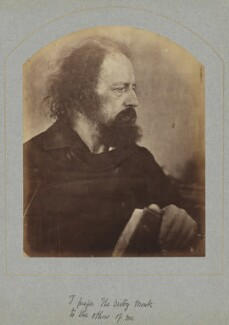 Alfred, Lord Tennyson, by Julia Margaret Cameron - NPG x44991