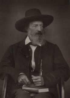 Alfred, Lord Tennyson, by Herbert Rose Barraud - NPG x26788