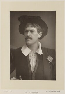 Sir George Alexander (George Samson), by W. & D. Downey, published by  Cassell & Company, Ltd, published 1893 - NPG Ax16163 - © National Portrait Gallery, London
