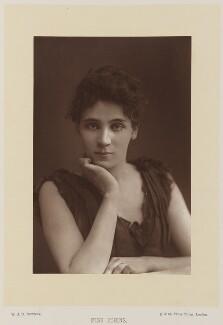 Elizabeth Robins, by W. & D. Downey, published by  Cassell & Company, Ltd - NPG Ax16168