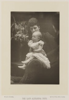 Queen Alexandra; Princess Alexandra, Princess Arthur of Connaught, by W. & D. Downey, published by  Cassell & Company, Ltd - NPG Ax16171
