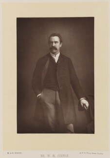 (William) Martin Conway, 1st Baron Conway of Allington, by W. & D. Downey, published by  Cassell & Company, Ltd - NPG Ax16178
