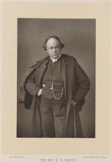 Hugh Reginald Haweis, by W. & D. Downey, published by  Cassell & Company, Ltd - NPG Ax16181