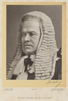 Hardinge Stanley Giffard, 1st Earl of Halsbury, by Clarence Edmund Fry & Son - NPG Ax16073