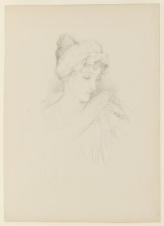 Norah Mary Madeleine Lindsay (née Bourke), after Violet Manners, Duchess of Rutland - NPG D9486