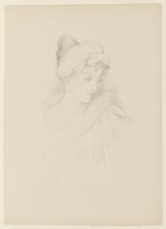 Norah Mary Madeleine Lindsay (née Bourke), after (Marion Margaret) Violet Manners (née Lindsay), Duchess of Rutland, 1897 - NPG D9486 - © National Portrait Gallery, London