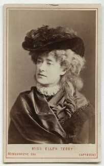 Ellen Terry as Philippa Chester in 'The Wandering Heir', by London Stereoscopic & Photographic Company - NPG Ax18156