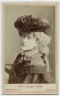 Ellen Terry as Philippa Chester in 'The Wandering Heir', by London Stereoscopic & Photographic Company - NPG Ax18157