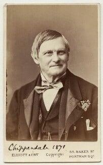 William Henry Chippendale, by Elliott & Fry - NPG Ax18169