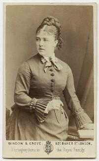 Marie Effie (née Wilton), Lady Bancroft, by Window & Grove - NPG Ax18187