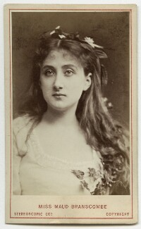 Maud Branscombe, by London Stereoscopic & Photographic Company - NPG Ax18189