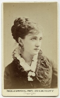 Maud Branscombe, by Fradelle & Marshall - NPG Ax18190