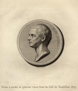 Edward Capell, by Francesco Bartolozzi, after  Louis François Roubiliac, published 1779 (1759) - NPG D9488 - © National Portrait Gallery, London