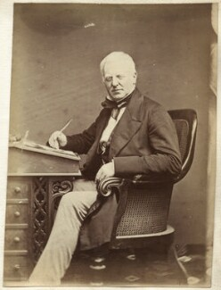 Robert Lowe, 1st Viscount Sherbrooke, by John & Charles Watkins, or by  John Watkins - NPG Ax21836