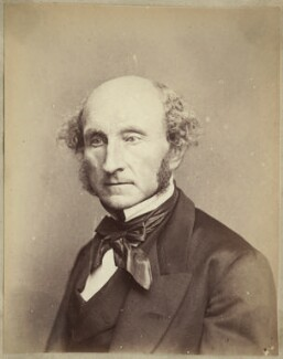 John Stuart Mill, by John Watkins, by  John & Charles Watkins - NPG Ax21848