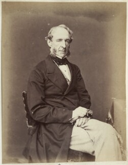 Robert Grosvenor, 1st Baron Ebury, by John Watkins, 1865-1870 - NPG Ax21855 - © National Portrait Gallery, London