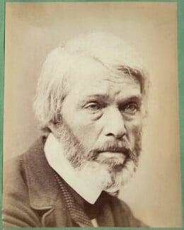 Thomas Carlyle, by John & Charles Watkins, 1860s - NPG Ax21887 - © National Portrait Gallery, London
