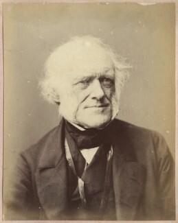 Sir Charles Lyell, 1st Bt, by John & Charles Watkins - NPG Ax21889